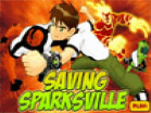 Ben 10 Saving Sparksville Hacked