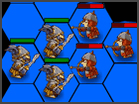 Hexagon Monster WarHacked