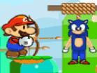 Mario & Sonic Doll 2 Hacked