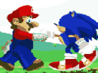 Mario n Sonic Hacked