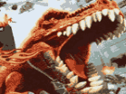 T-Rex Rampage: Prehistoric Pizza Hacked
