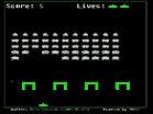 Space Invaders UAHacked