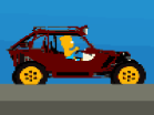 Bart Simpson Buggy Car Hacked