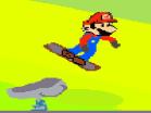 Mario Snowboard Hacked