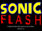 Sonic Flash Hacked