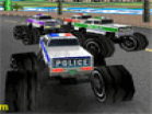 3D Police Monster TrucksHacked