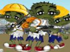 Cute Zombie School Defense Hacked