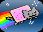 Nyan Cat FLY! Hacked