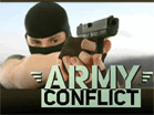 Army Conflict Hacked
