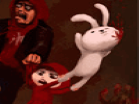 Bunnies and Zombies Hacked