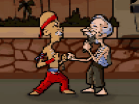 Kung Fu Grandpa Hacked